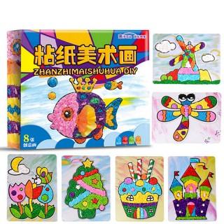 手工制作竹蜻蜓的教程图解 - 5068儿童网