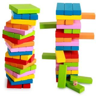 54粒叠叠乐数字叠叠高层层叠积木
