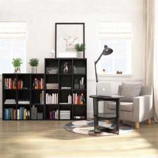 木质层架组合书架书柜90*100cm