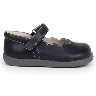 儿童软底皮鞋