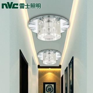 led陽臺水晶過道玄關燈6w